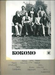 Blue eyed soul band Kokomo in 1976