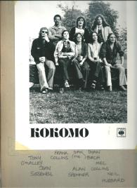 Blue eyed soul band Kokomo in 1976