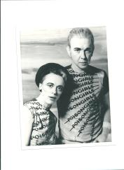 Richard Famous with Sian in the Poison Girls' days