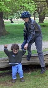 Sian and Joe in Richmond Park